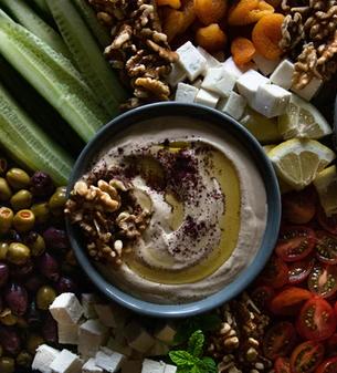 Orientalischer Hummus-Dip